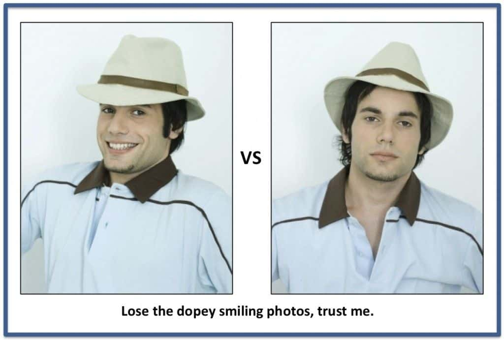 Lose The Dope Smiling Photos Get More Girls
