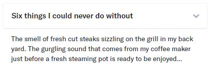 OkCupid answer example