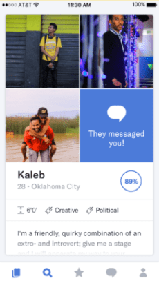 OkCupid first message