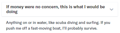 good okCupid profile answer for guys