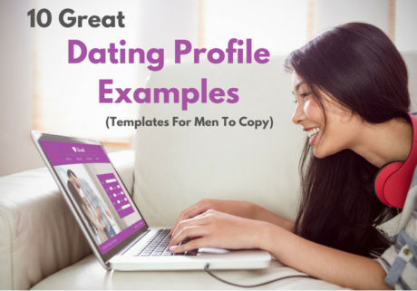 Sample of profile heading in a dating site