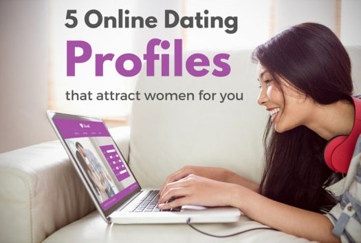 5 Online Dating Profiles graphic
