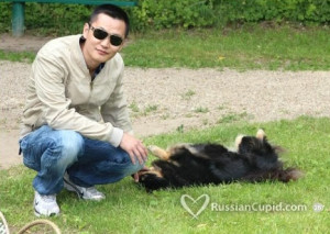 Example of good picture on Russian Cupid online dating site.