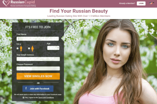 Online dating website cupid