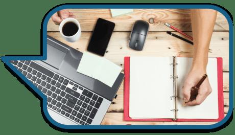 Busy Entrepreneur Business Executive Multi-tasking