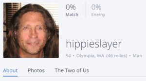 Fail online dating profile username hippieslayer