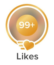 Likes on Tinder