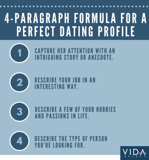 dating profile formula