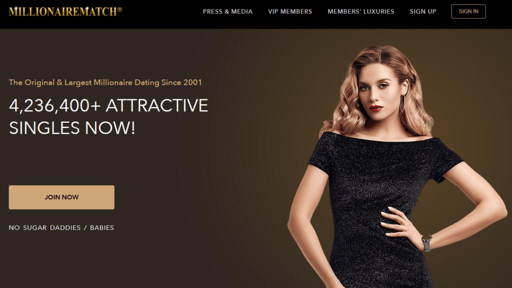 Millionaire Match dating site