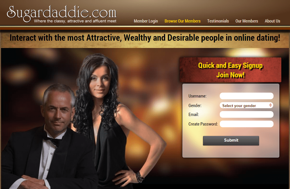 Sugar Daddy Singles - Mingle with Wealthy Singles Free
