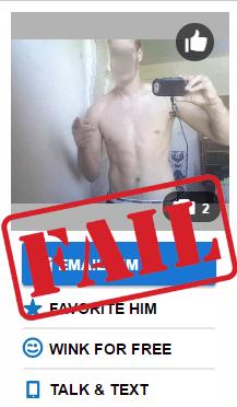 dating photo fail