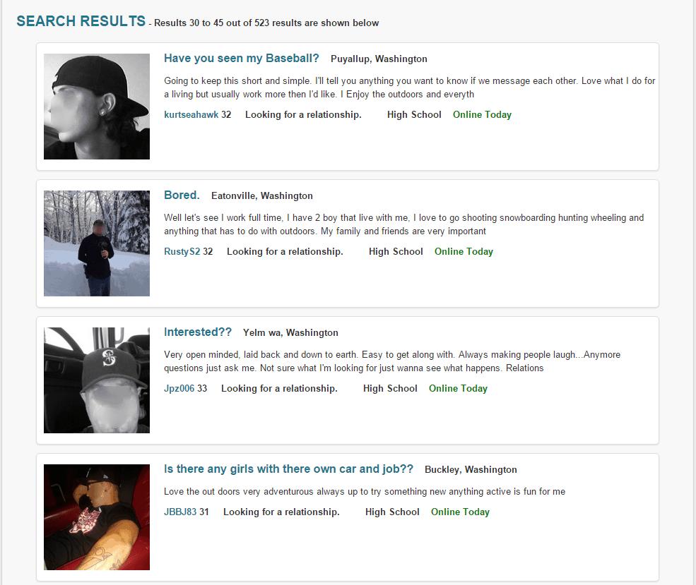 Sex hookup websites