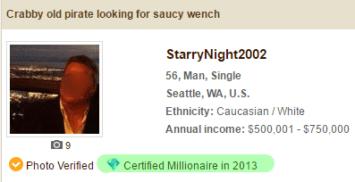 certified millionaire stamp