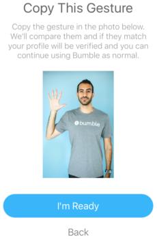 bumble profile verification