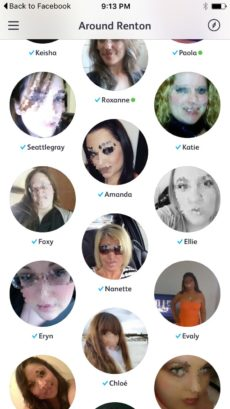 Badoo profile visitors