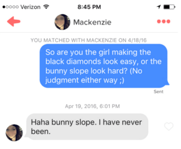Tinder lines that work