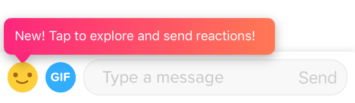 How to send a Tinder Reaction