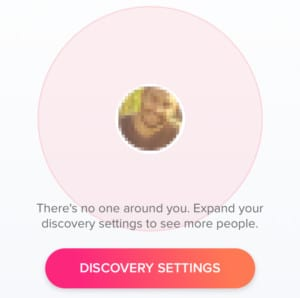 out of Tinder users