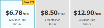 POF upgraded membership cost