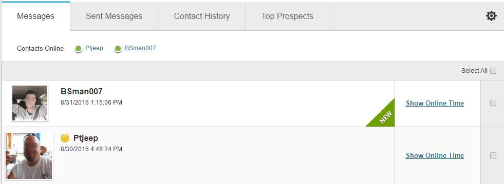 POF username example