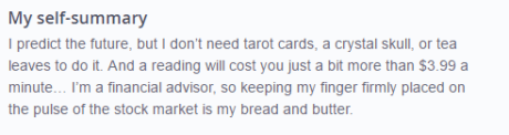 okcupid profile example for professional man