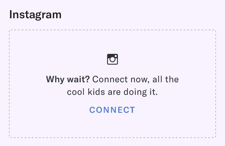 Connect Instagram To OkCupid