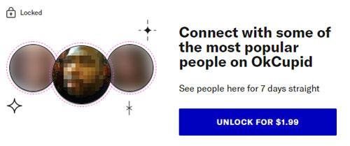 OkCupid Most Popular Stack Cost
