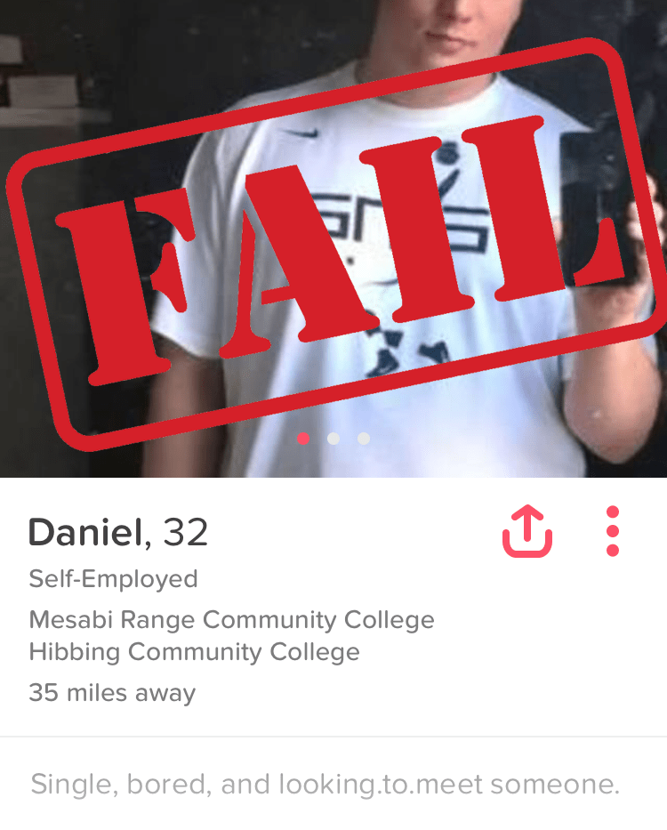 what not to write on a Tinder bio