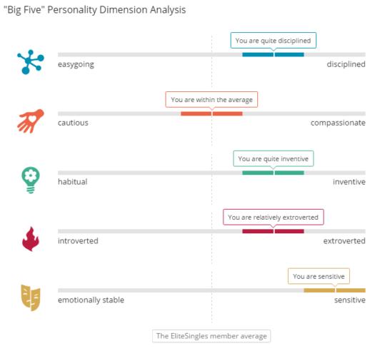 elite singles personality test