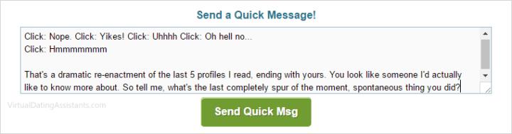 Actif ou en ligne messenger