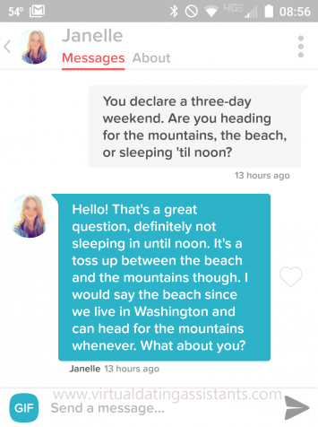 tinder message that gets responses