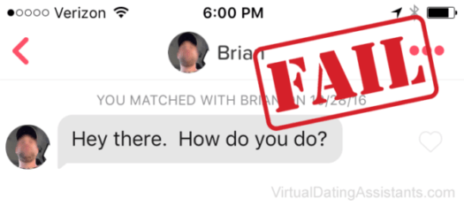 bad tinder message examples