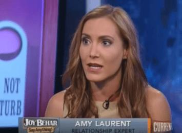 Amy Laurent on Joy Behar