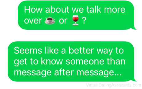 How to text a girl you met online and get her to meet you in person text message asking for a date m4hsunfo