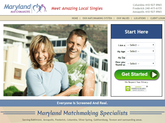 Maryland Matchmakers Reviews