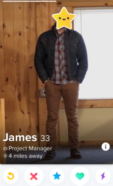 Tinder photo mistake
