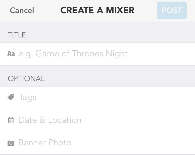 how to create a mixer on Clover