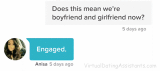 what is a good first message to send a girl on a dating site