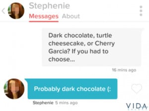 What to say on tinder message