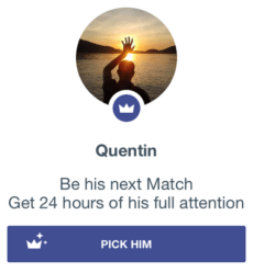Once dating app features