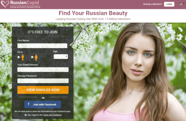 What dating apps are used in russia