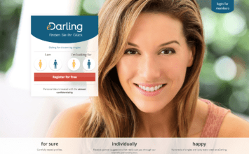 German dating website