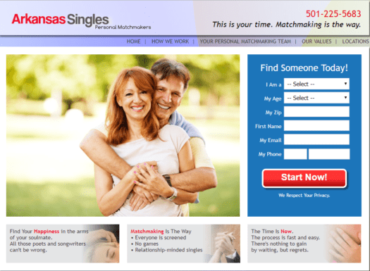 Singles matchmaking