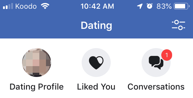 Facebook Dating Liked You