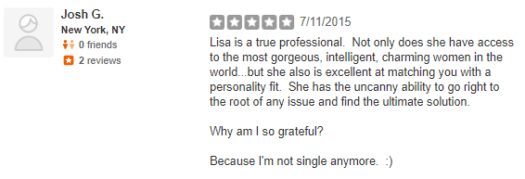 Lisa Clampitt yelp review