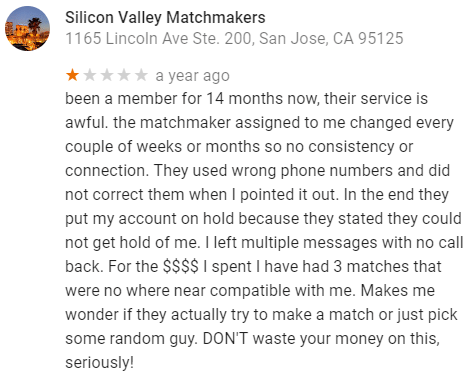 Silicon valley matchmaking