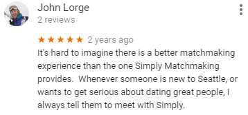 simply matchmaking seattle reviews