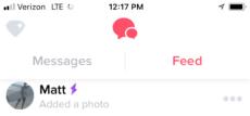 Tinder feed