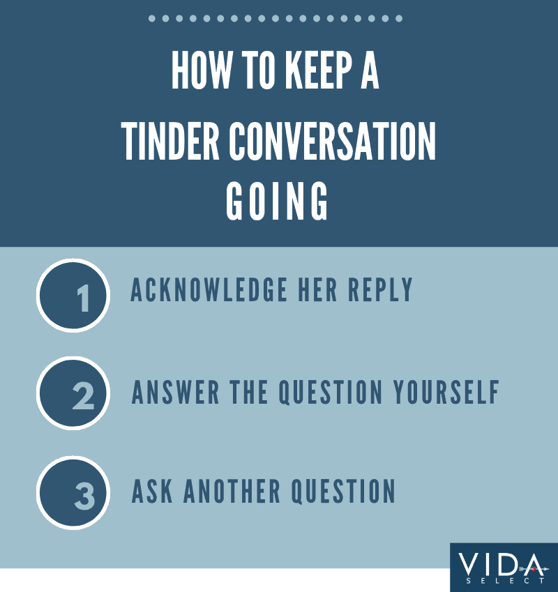 Keep a Tinder conversation going