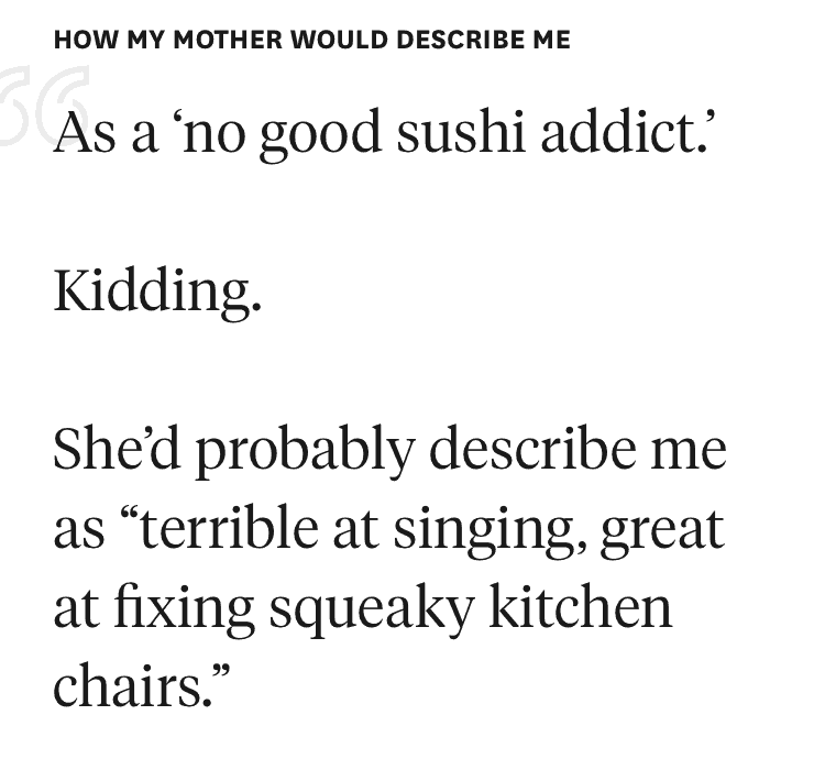 funny hinge answers